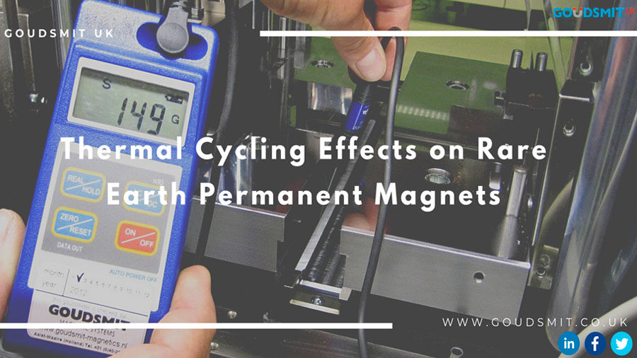 Thermal Cycling Effects On Rare Earth Permanent Magnets